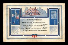 DR JIM STAMPS US WRITE OFTENER GREETINGS TOPICAL KENTUCKY POSTCARD