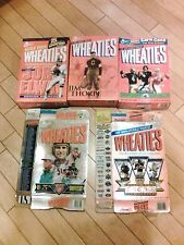 Lot of 5 Wheaties Football Boxes (Empty)