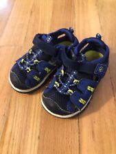 New Boys Toddler Route 66 Fletcher Walking Sandal Style 52116 Navy 83F lr