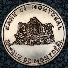 1963 BANK OF MONTREAL - Quebec Numismatic Assoc - 2nd Ann. Convention Sherbrooke