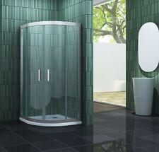 FRAME-R 80 x 80 Viertelkreis Glas Duschkabine Duschtasse Dusche Duschabtrennung