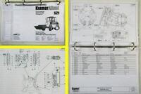 Kramer Allrad 521 Ersatzteilliste Spare parts list Catalogue de pieces detachees