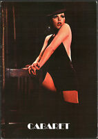 CARTOLINA POSTCARD - LIZA MINELLI (CABARET) - PYRAMID FILM & MUSIC