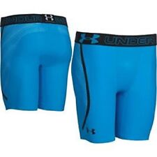 * Under Armour Armourvent Compression Running Shorts; Electric Blue/Black; Large