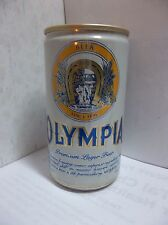 OPLYMPIA beer can  Aluminum ~ 12oz  Premium Lager Beer Tumwater wa.