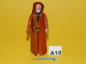 Vintage Star Wars Ben Obi Wan Kenobi with original cape