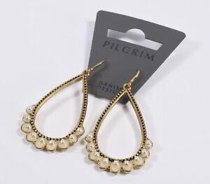 Lovely Pair of Pilgrim Dangle Earrings Mint on Card Never Worn