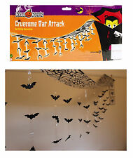 Bat Attack Garland - Party Decoration 3m 42 Bats
