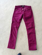 Designer Jeans Hose CELYN B. ELISABETTA FRANCHI gr 28 (D: 36 38) pantalone rot
