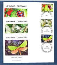 Nouvelle-Calédonie   enveloppe   faune  insectes   1997