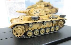 Dragon Armour 1/72 Panzer III Ausf.N (DAK)  s.Pz.Abt.501 - Tunisia 1943 - 60603