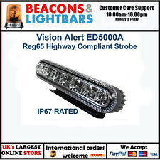 Vision Alert ED5000A Reg65 12/24v Amber 6 LED Strobe PN: ED5000A