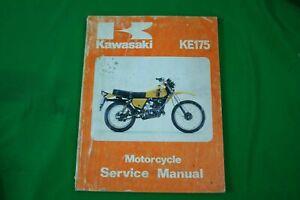 KAWASAKI SERVICE MANUAL KE175D