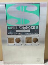 Rowe Coin Bc-2800 Bill Changer Faceplate bezel stainless steel cover 65430902