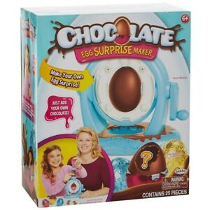 EASTER CHOCOLATE EGG SURPRISE MAKER 25 PIECES BY JAKKS FOR AGE 6+ RRP £19.99