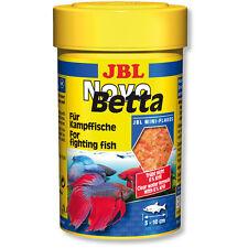 JBL novobetta 100ml-Siamese FIGHTER alimentare Mini Fiocchi NOVO BETTA & gouramis