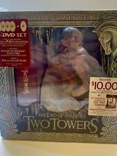 Lord of the Rings Two Towers Collectors Dvd Gift Set Gollum Figure & Book 2002