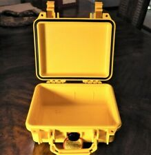 1200 Waterproof Airtight Equipment Case (Pelican) - YELLOW- New. No Foam.