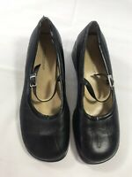 PREDICTIONS Womens Size 6 Black Mary Jane Shoes Ankle Strap Casual Comfort Wear