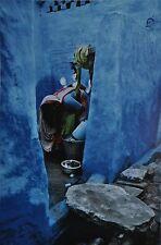 Raghu Rai Kunstdruck Color Photo Art Print 30x42 Delhi Indien India 1989 Magnum