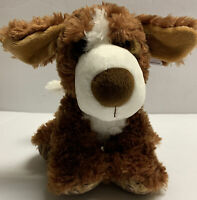 "Aurora Big Paws 9"" Bernie St. Bernard Plush Brown Soft Cute Dog Stuffed Animal"