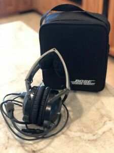 Bose X Aviation Headset with Case / New Ear Pads