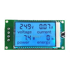 AC 100A Power Meters Alarm Monitor Voltage current kWh Watt ENERGY Amp Volt 220V