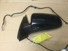 AUDI A4 2001-2008 LEFT ELECTRIC DOOR WING MIRROR BRILLIANT BLACK Y9B