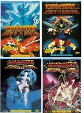UROTSUKIDOJI Vol I ,II, III & IV IN ENGLISH ALL REG ANIME 4 DVD SET