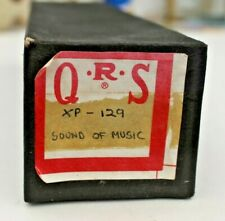 More details for qrs pianola word roll:  the sound of music. long play, 7 songs