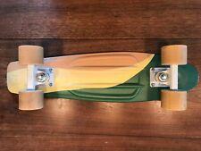 "Penny Australia 22"" Skateboard - Green Beige Swirl - (Original, Authentic)"