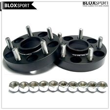 2x25mm 5x114.3 Hubcentric Wheel Spacers | Honda & Acura | 64.1mm Hub | 12x1.5