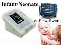 Digital Blood Pressure Monitor CONTEC08A+Software Upper Arm Neonate/Infant Cuff1