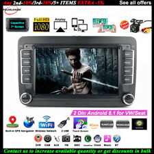 7''2 Din GPS Android Car Radio for VW/Seat +CAM iOS Mirror Link FM Touch Wifi BT