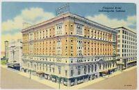 Postcard 1958 Claypool Hotel Indianapolis, Indiana Vintage