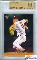 2008 BBM Japan #329 Masahiro Tanaka BGS 9.5 GEM Yankees 175 Million-Cy Young?