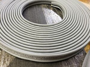 Gray Convertible Top Wire-on Trim 71 Feet Wireon