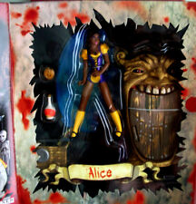 Alice in Wonderland Mezco  Scary Tales Official   Alice (Variant) Action Figure