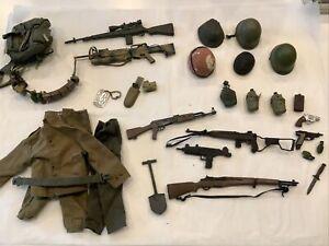 21st century toys 1/6 Ultimate Soldier US Vietnam War Weapons Gear- 30 Piece Lot