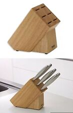 ROSENTHAL THOMAS's KNIFES HOLDER WOODEN BLOCK  NEW, PROTECTIVE & STYLISH