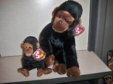 """Ty Beanie Buddy """"Congo Baby and Buddy""""  New cond. !!!!!"""