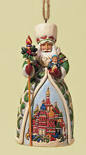 Heartwood Creek 4022942 Russian Santa Hanging Christmas Decoration 15563