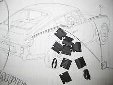 TRIUMPH GT6 Mk1 FRONT & REAR WING FINISHER CLIPS PART No 614107 X (10)