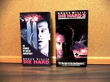 Die Hard & Die Hard 2: Die Harder (Vhs, 1995) Bruce Willis, Samuel Jackson