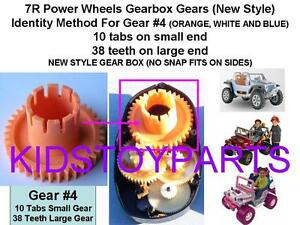 Power Wheels Final Outer Drive Gear #4 7R Hurricane Jeeps and Most all Gearboxes