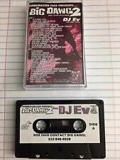 DJ Ev Funkmaster Flex Big Dawg 2 Mixtape CASSETTE Tape 90s Hip Hop NYC