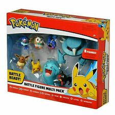 Pokemon Character Toys Pikachu Doll Battle Figure Multi Pack Kid's Toys 8pcs/set
