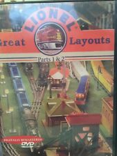 🚂 LIONEL 🚂 GREAT LAYOUTS (DVD) Toy Trains Railroad 2004 Parts 1&2