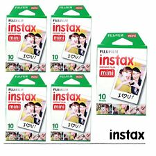 Fujifilm Instax White 50 Film For Fuji Mini 8 Plus 90 25 7s 300 Camera SP-1 US