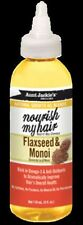 AUNT JACKIE'S NATURAL GROWTH OIL BLENDS- NOURISH MY HAIR – FLAXSEED & MONOI 4oz